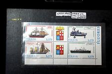 Francobolli Italia 170 Lire x 4 Navi Stamps