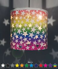 Rainbow Ereki Stars changeable lampshade Projection Effect  + Magnetic Set