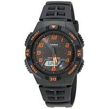 Casio Men's AQS800W-1B2VCF Slim Solar Multi-Function Analog-Digital Watch