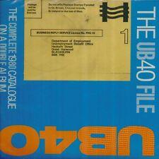 """UB40 """" THE COMPLETE 1980 CATALOGUE FILE """" LP DOPPIO SIGILLATO VIRGIN ITALY"""