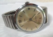 Clean Vintage 1970's Men's Timex Self-Winding Automatic Watch w/ Speidel Band