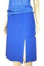 VERSACE New Women Blue Formal Collectors Fashion Design Knee Skirt sz IT 28 АN23