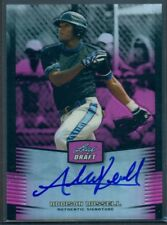 2012 LEAF METAL DRAFT PINK PRISMATIC REFRACTOR AUTO ADDISON RUSSELL #'D 12/25