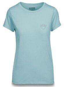 Dakine BROOK Womens Short Sleeve Bike Tech T-Shirt Medium Stoneblue NEW Sample
