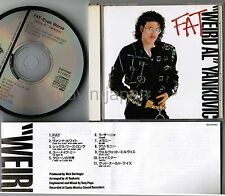 WEIRD AL YANKOVIC Fat(Even Worse) JAPAN CD D32Y0183 w/INSERT Michalel Jackson