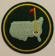 """The Masters Augusta Embroidered Patch~~3"""" Round~PGA Golf~Iron or Sew On"""