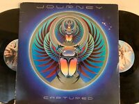 Journey ‎– Captured 2x LP 1981 1st Press Columbia ‎– KC2 37016 VG w/ Inners