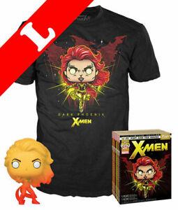 Funko Pop! Tees Marvel X-Men T-Shirt L Box Set Dark Phoenix ed.lim. 2019 Fall Co
