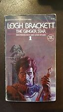 "Leigh Brackett, ""Ginger Star,"" 1974, Ballantine 23963, VG-, 1st, PBO"