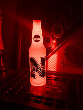 NCAA Nebraska Cornhuskers Football 12 oz Beer Bottle Light LED March Madness