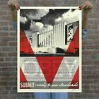 Shepard Fairey Conformity Factory Red art print Signed Numbered x/300 Obey Giant