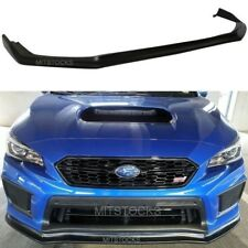 Fits For 2018 Subaru WRX STI CS Style Front Bumper Lip Spoiler Body Kit PU