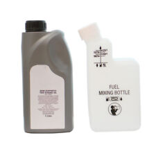 1 Litre Of 2 Stroke Oil And Fuel Petrol Mixing Bottle For Strimmer 40:1 50:1