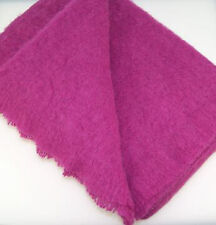 Australian Alpaca Connection Brushed Throw Orchid