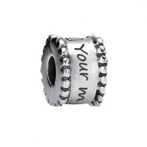 Genuine Pandora Silver Round Clip Charm 790267