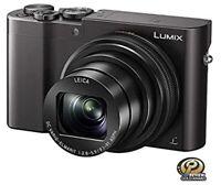 Panasonic LUMIX 4K DMC-ZS100K, 10X LEICA DC VARIO-ELMARIT f/2.8-5.9 Lens, 20.1MP