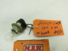 BULB SOCKET REVERSE LIGHT RANGER DRIVER L LH LR LEFT TAILLIGHT TAIL LAMP LENS OE