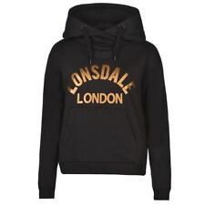 Lonsdale Over The Head Hoody Black Size XXS UK 6 LF082 AA 16