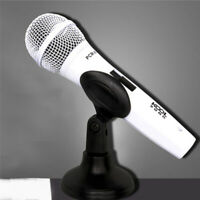 Universal Desktop Table Microphone Mount Holder Stand Support Mic Clip Rack Q