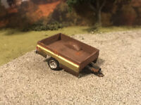 GMC Truck Bed Trailer Rusty Weathered Barn Find Custom Built 1/64 Scale Diecast