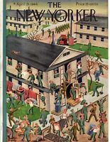 1944 New Yorker April 29 - Join the Army, clean the barracks at Fort Dix.