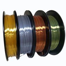 3D Printer Filament Silk PLA 4PCS 1.75mm 0.5KG Silk Gold Silver Copper Bronze