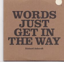 Richard Ashcroft-Words Just Get In The Way promo cd single