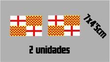 (1114)2 x bandera TABARNIA Barcelona catalonia catalana vinilo adhesivo pegatina