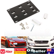 License Number Plate Front Bumper Tow Hook Mounting Bracket For BMW Plate Mount