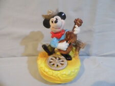 Schmid music box Western Mickey Mouse