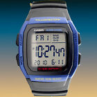 Casio W-96H-2AV Men's Watch Digital Blue Multifunction Sport 10 Year Battery New