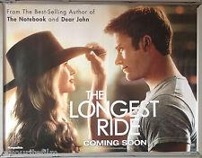 Cinema Poster: LONGEST RIDE, THE 2015 (Coming Soon Advance Quad) Scott Eastwood
