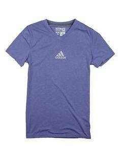 Adidas Youth Girls Ultimate Athletic V-Neck Short Sleeve T-Shirt, Many Colors