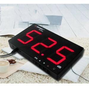 SW-525A Digital Sound Level Meter Tester 30~130db LCD Display DC 5V Restaurant