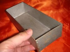 Vintage Handmade Metal Container, Like A Silver Ingot