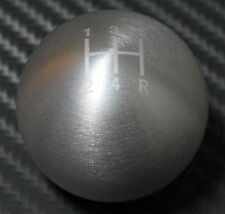 CZRRACING SILVER 1.5 ROUND TYPE R STYLE SHIFT KNOB HONDA ALL MODEL 5 SPEED