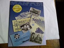 Mantua Ho Train Catalog 2001 75Th Anniversary And Final Catalog New Uncirculated