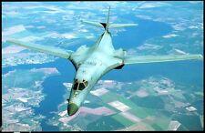 B-1B Lancer postcard Rockwell strategic bomber  *92a
