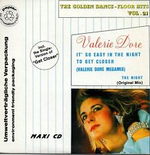 ★☆★ CD SINGLE Valerie DORE 	It's so easy in the night 3 Tracks CARD SLEEVE  ★☆★