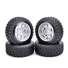 1/10 RC Rally Racing Off Road Car Rubber Tyre Tire and Wheel 4PCS 11083-21104