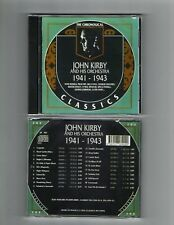 JOHN KIRBY 1941-43 CLASSICS CD NEW SEALED LONG OUT OF PRINT