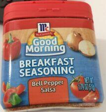 MCCORMICK Good Morning BREAKFAST Seasoning Bell Pepper Salsa 1.79 oz