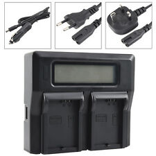 DSTE 1.5A Dual Battery Charger for Canon LPE5 LP-E5 With USB Port