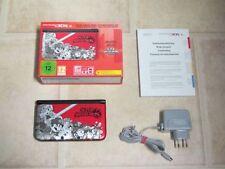 Nintendo 3DS XL Limited Rot Smash Bros Edition OHNE Spiel *Guter Zustand* *OVP*
