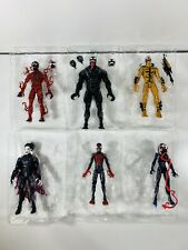Marvel Legends Venompool Series Set of 6 Action Figures NO BAF SpiderMan Lot NEW