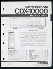 YAMAHA CDX-10000 Original CD-Player Service-Manual/Diagram 70 Seiten RAR o138