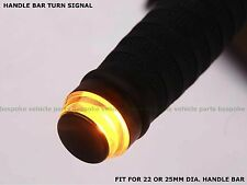 Turn Signal Light Handle bar motorcycle cafe racer retro bobber chopper A 22mm