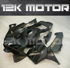 HONDA CBR600RR CBR 600 F5 2003 2004 Fairings Set Fairing Kit Matt Black Gold 21