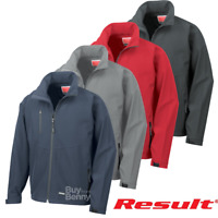 RESULT BASE LAYER SOFTSHELL JACKET WATER REPELLENT LIGHTWEIGHT SPORT MEN'S SIZES