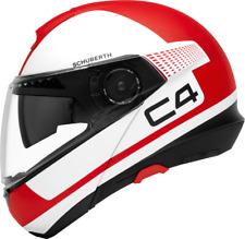 Schuberth C4 Legacy Rosso Moto Casco - Grande
